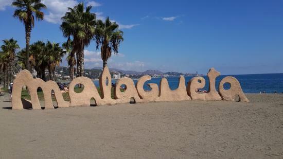 La playa de la Malagueta es un lugares de interés en Málaga