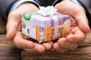 De schenking in Spanje