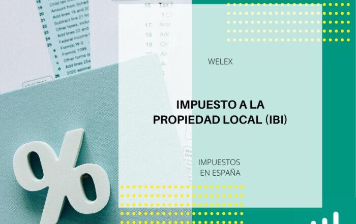 Impuesto a la propiedad local (IBI)