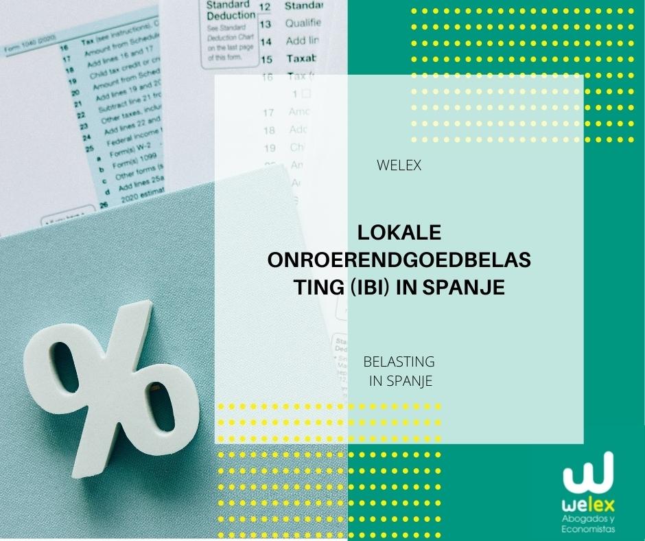 Lokale onroerendgoedbelasting (IBI) in Spanje