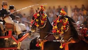 Goyesca bullfight
