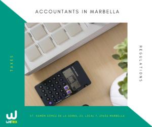 invoice in Marbella