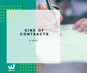 types of contracts in Spain