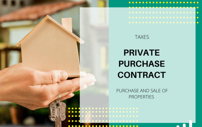 PRIVATE PURCHASE CONTRACT FOR PROPERTIES UNDER CONSTRUCTION IN SPAIN