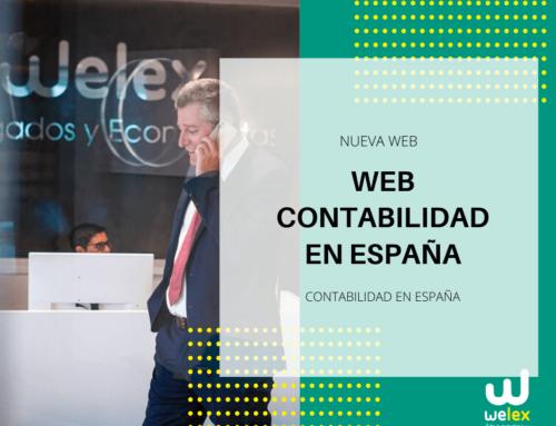 Contabilidad en España: Descubra nuestra nueva web | WELEX