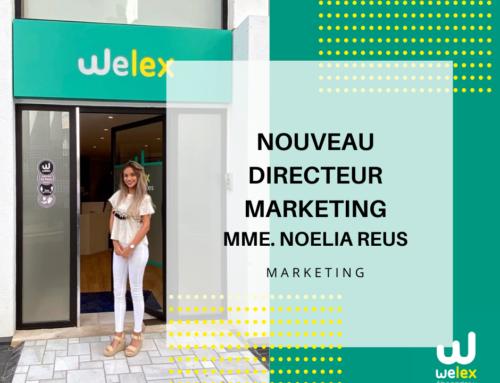 Nouveau directeur marketing chez Welex: Mme Noelia Reus