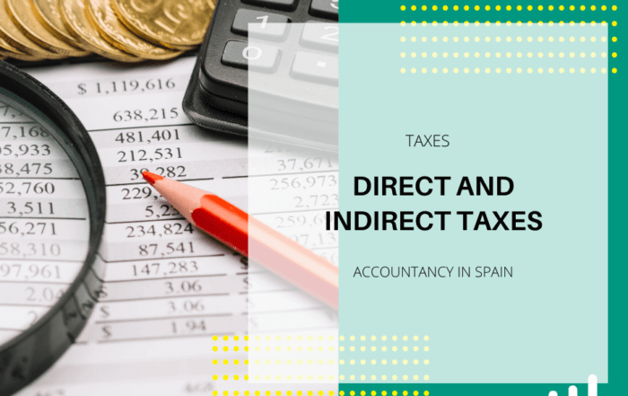 Direct and Indirect taxes Spain
