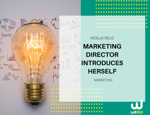 Marketing Director Noelia Reus introduces herself