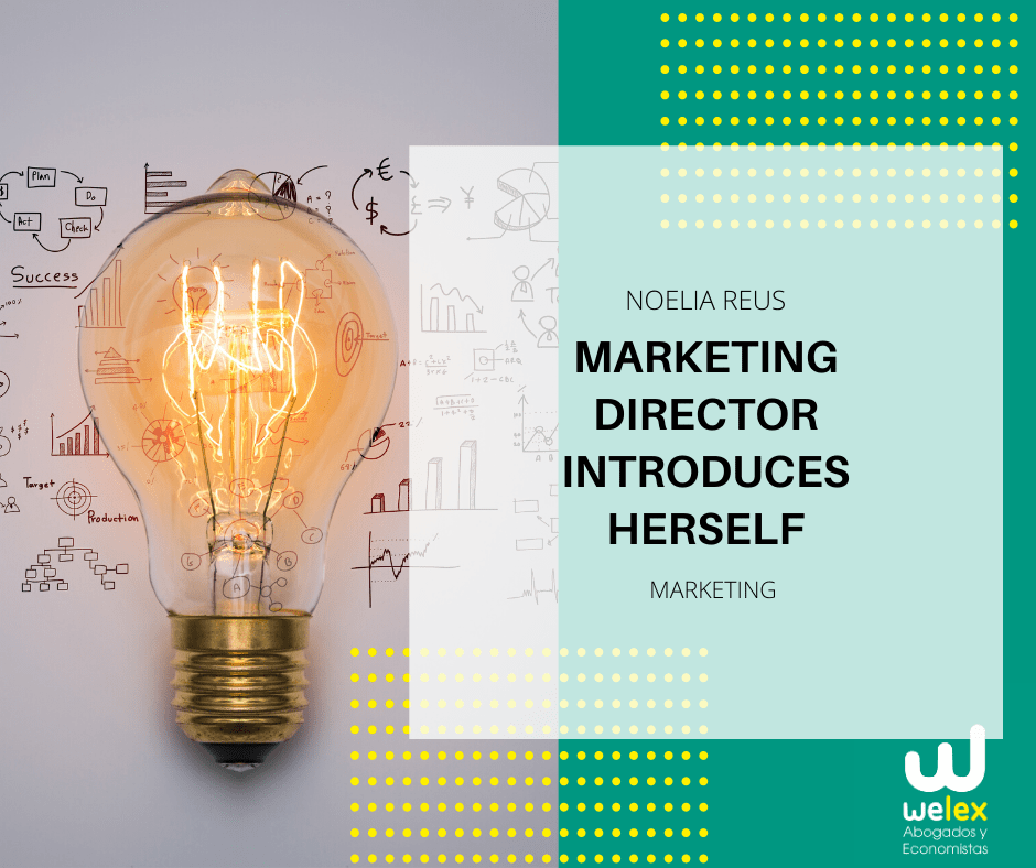 Marketing Director Introduces herself
