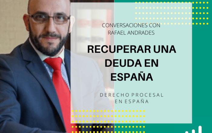 RECUPERAR UNA DEUDA EN ESPAÑA