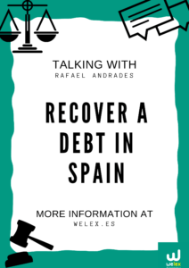 Recover a debt in Spain