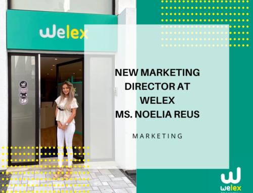Breaking news: New marketing director at Welex Ms. Noelia Reus