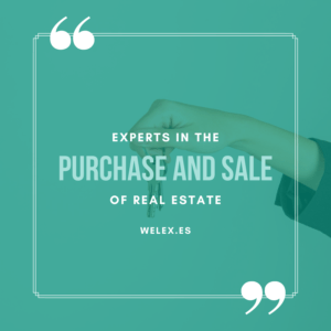 welex experts in the purchase and sale of real estate Spain