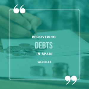 welex recovering debts