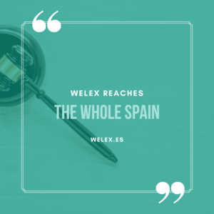 welex reaches the whole Spain