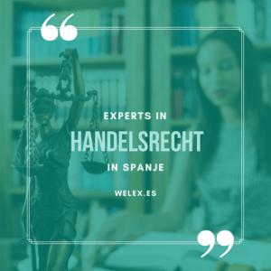 Experts in handelsrecht in spanje
