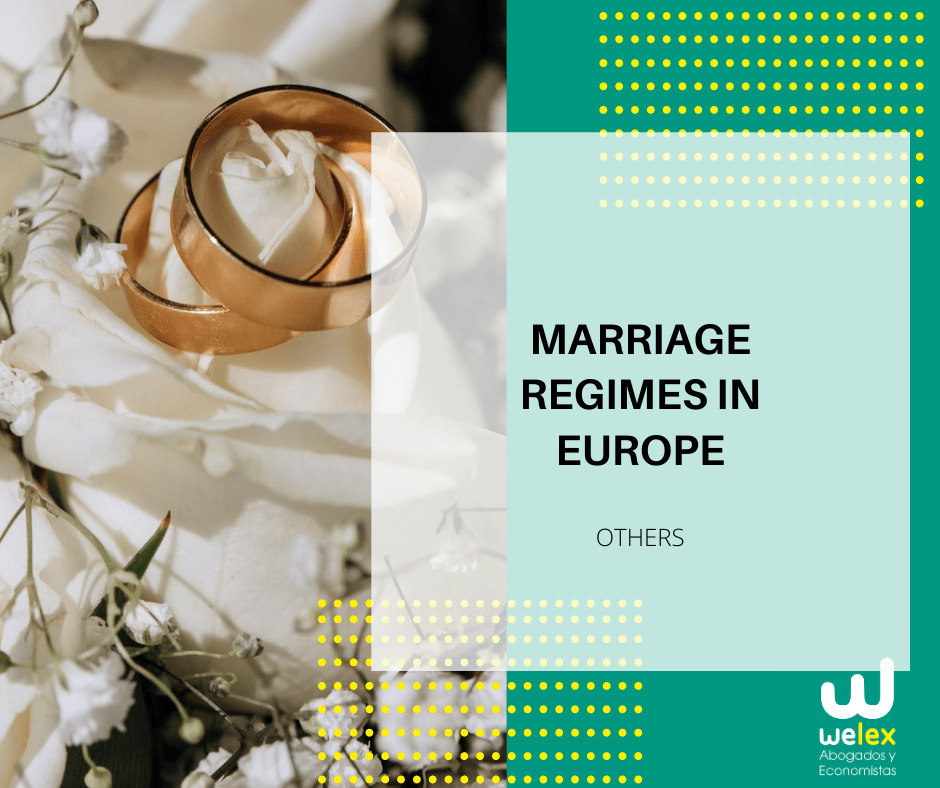 régimes de mariage en Europe