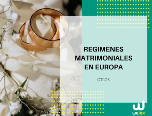 Diferencias entre regímenes matrimoniales en Europa