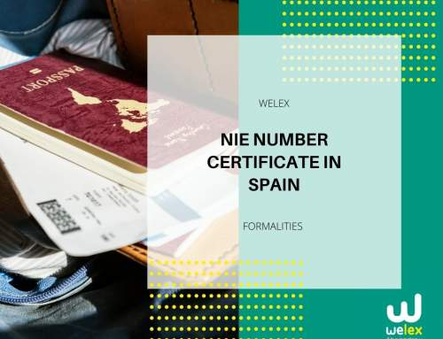 NIE Number Certificate in Spain | WELEX