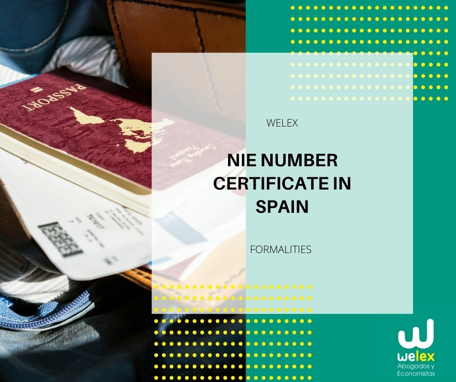 NIE Number Certificate in Spain