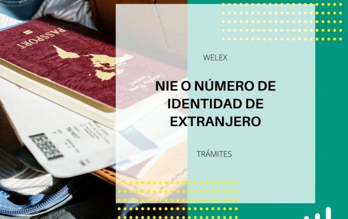 NIE O NÚMERO DE IDENTIDAD DE EXTRANJERO