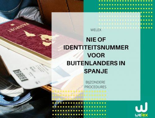 NIE of Fiscaal Identiteitsnummer voor Buitenlanders in Spanje | WELEX