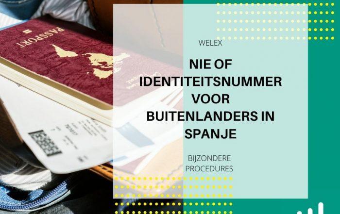 NIE of Identiteitsnummer voor Buitenlanders in Spanje