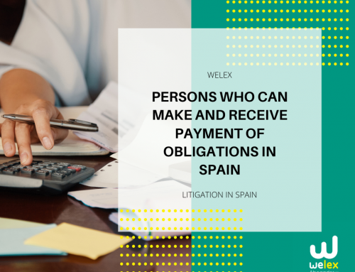 Persons who can make and receive payment of obligations in Spain | WELEX