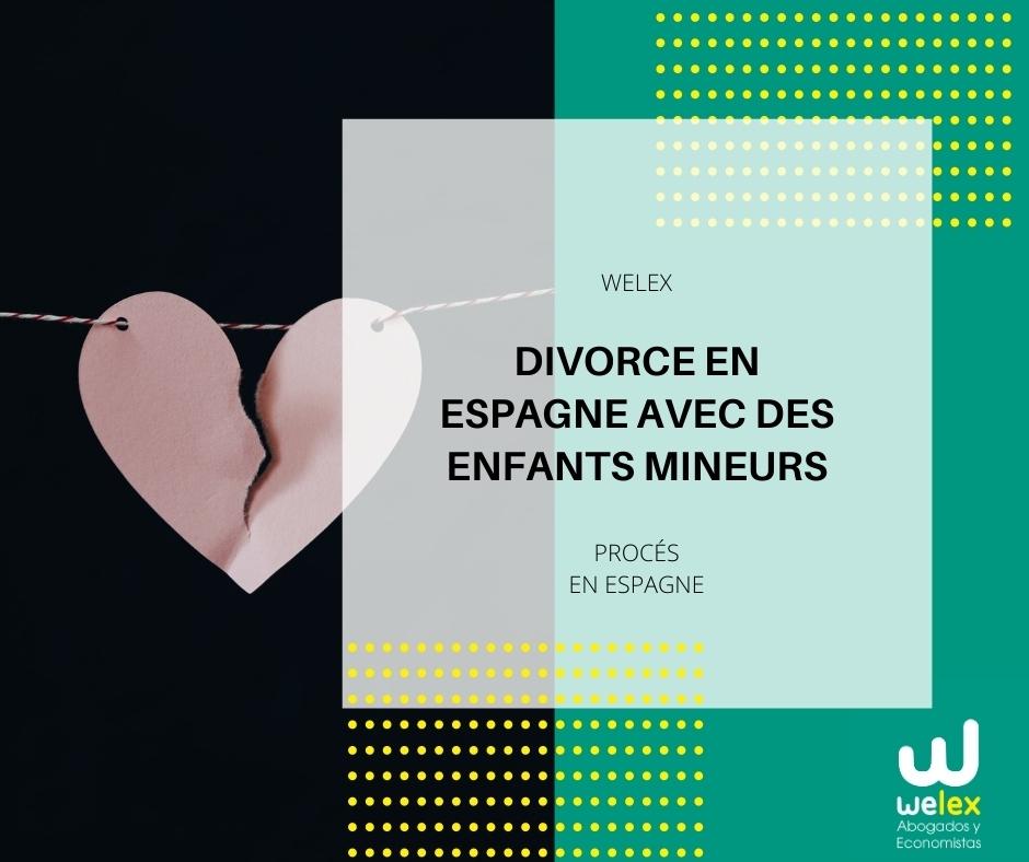 Divorce en Espagne avec des enfants mineurs