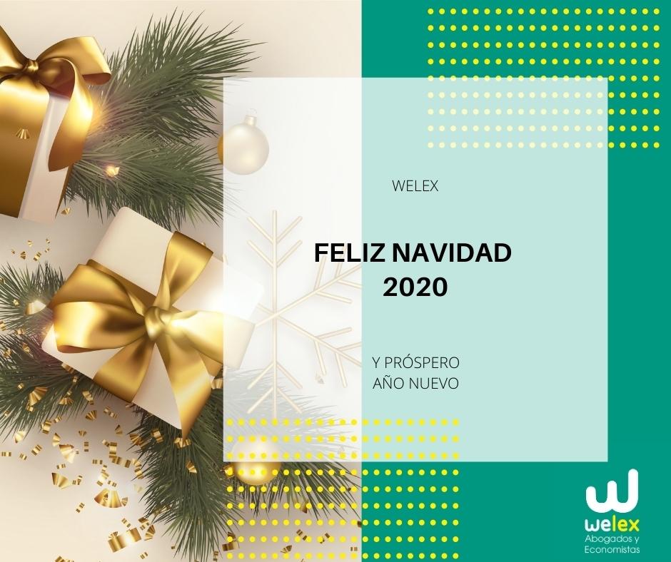 feliz navidad welex abogados y economistas en España