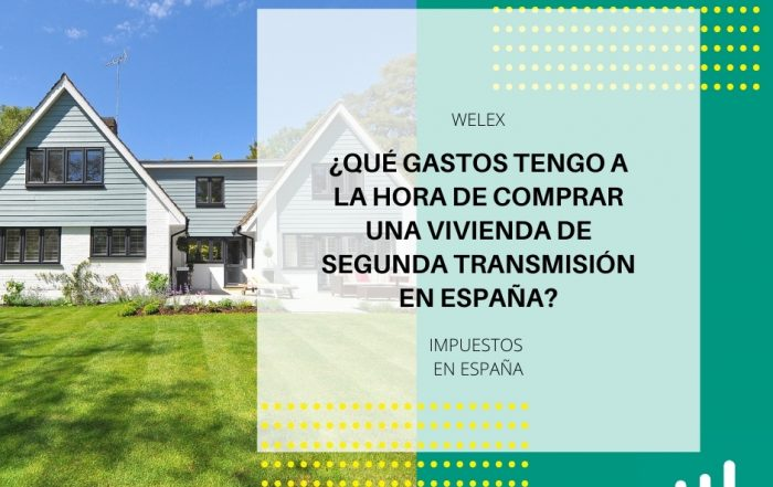 Gastos comprar vivienda segunda transmisión España
