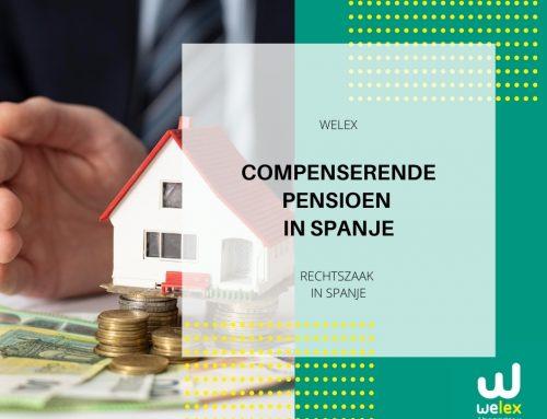Compenserende pensioen in Spanje | WELEX