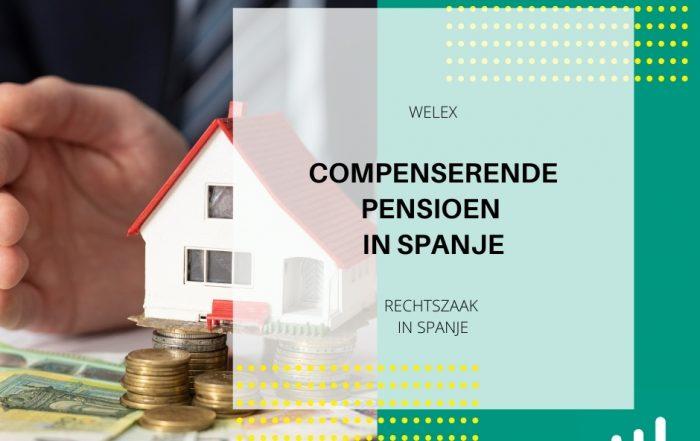 Compenserende pensioen in Spanje