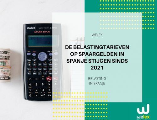 De belastingtarieven op spaargelden in Spanje stijgen sinds 2021 | WELEX