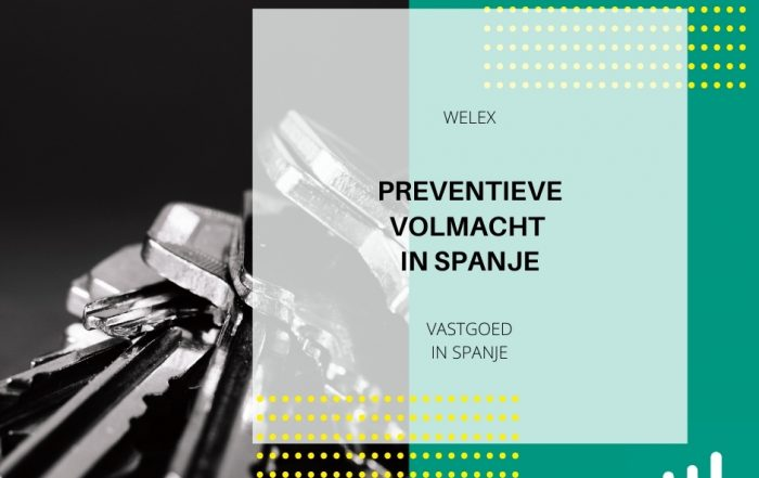 Preventieve volmacht in Spanje