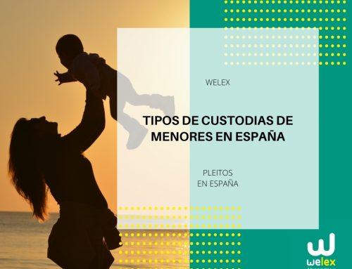 Tipos de custodias de menores en España | WELEX