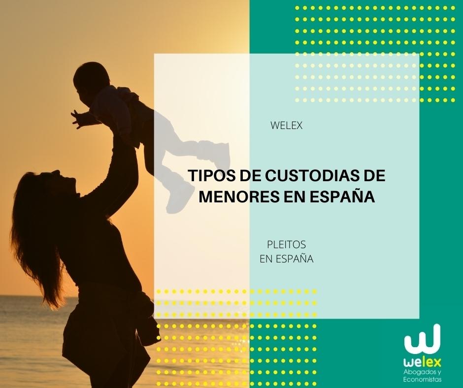 Custodias de menores en España