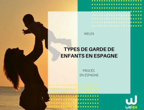 Types de garde de enfants en Espagne | WELEX