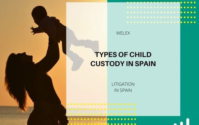 Types of Child Custody in Spain
