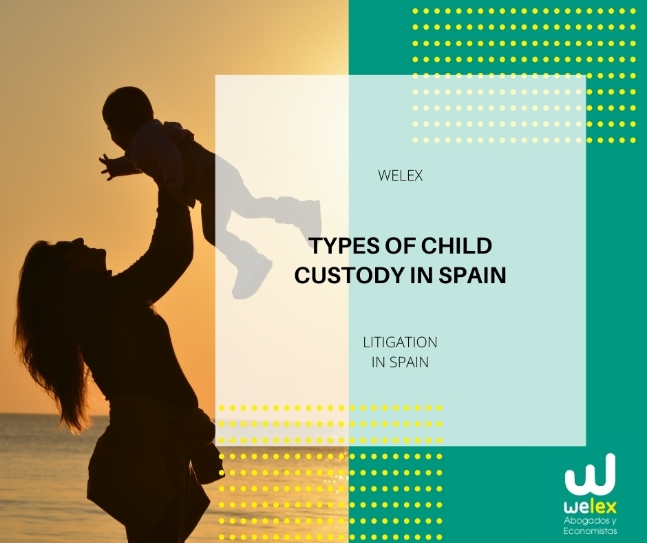 Types of Child Custody in Spain