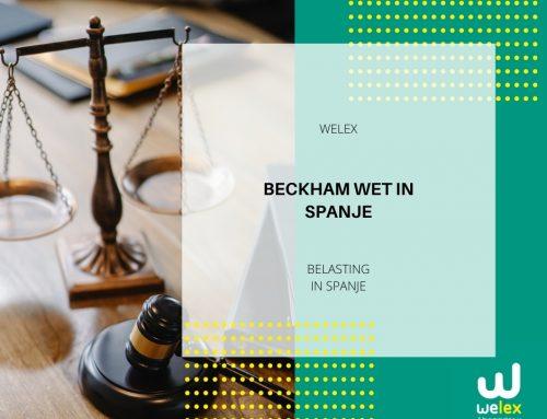 Beckham wet in Spanje: wijziging van de belastingschaal van toepassing vanaf januari 2021 | WELEX