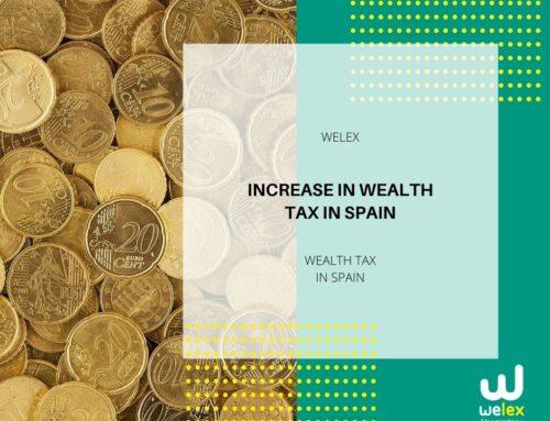 Increase in Wealth Tax in Spain