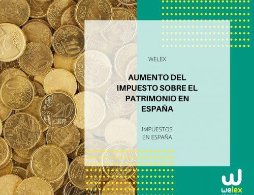 Aumento del Impuesto sobre Patrimonio en España