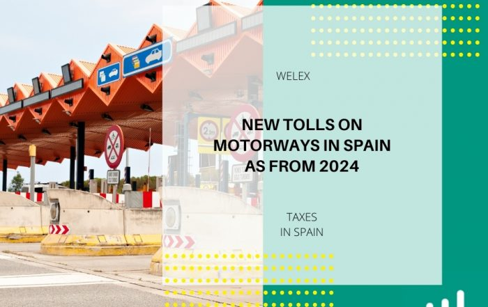 New tolls on motorways in Spain as from 2024