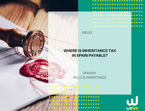 Where is Inheritance Tax in Spain payable? | WELEX