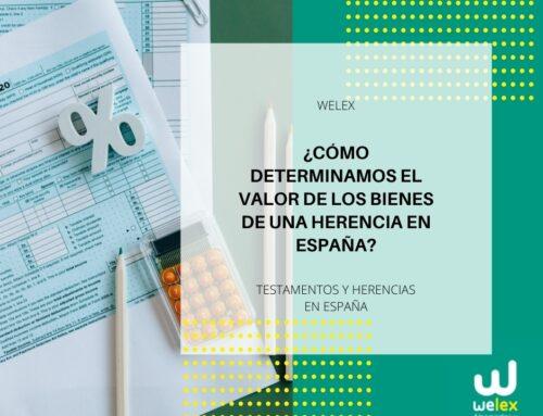 ¿Cómo determinamos el valor de los bienes de una herencia en España? | WELEX