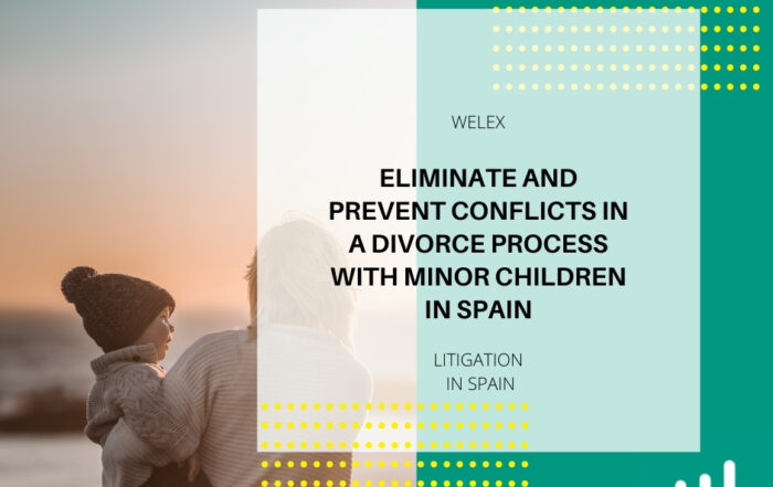 Eliminate and prevent conflicts in a divorce process with minor children in Spain