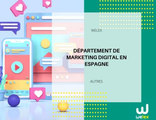 Département de Marketing Digital en Espagne | WELEX