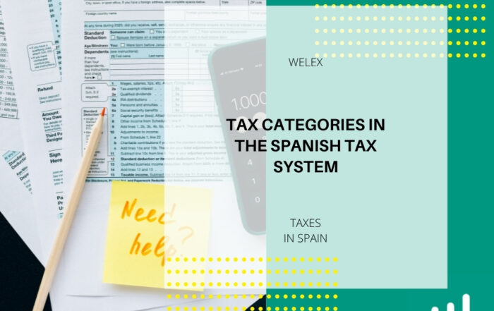 Tax Categories in the Spanish Tax System