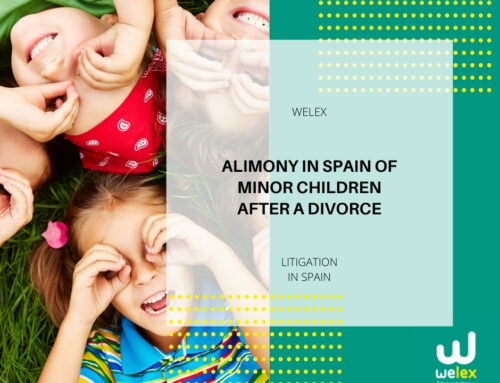 Alimony in Spain of minor children after a divorce | WELEX